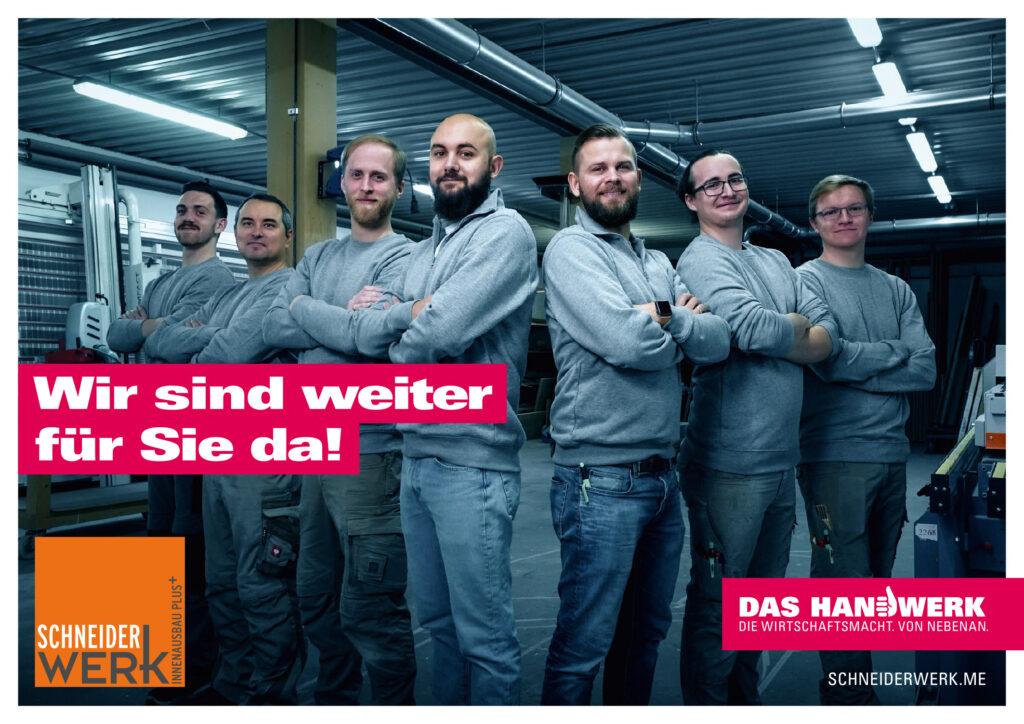 Schneiderwerk Plakat